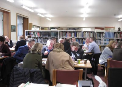 Library In Use